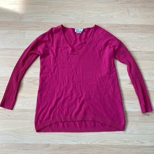 Vineyard Vines Pink Cashmere Sweater Size Small
